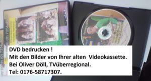 Videoüberspielung mit Fotodruck auf der DVD