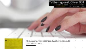 Videoproduktion Oliver Döll, Presseberichte TVüberregional. Dieser Pressebericht wurde von Oliver Döll erstellt und nicht von Dritten.