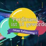 Ferdinand Kurzynski, Geburtstagsgrüsse von Cedric