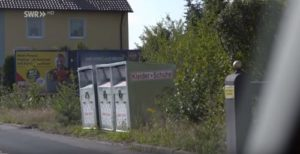 Das Geschäft mit den Altkleidercontainer