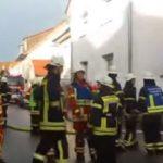 Helmstadt-Bargen, Rhein-Neckar-Kreis, von Windstoß überrascht, Feuer breitet sich unkontrolliert aus