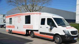 """Heddesheim: Mobile Beratungsstelle der Polizei zum Thema """"Einbruchschutz"""" unterwegs"""