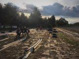Philippsburg, Härtestes Fitnesstraining in freier Wildbahn