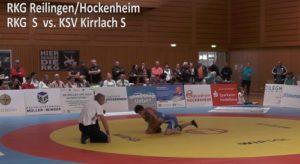 RKG Reilingen Hockenheim, RKG S vs. KSV Kirrlach S