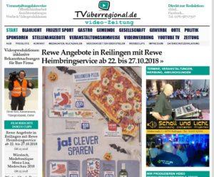 Rewe Angebote in Reilingen mit Rewe Heimbringservice ab 22. bis 27.10.2018