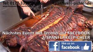 Spanferkel Hoffest - DAS LETZTE MAL - bei Pichler Walldorf am 28.10.18 ab 11 Uhr - 18 Uhr