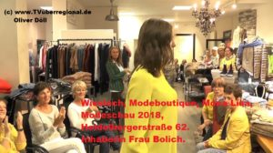 Wiesloch, Modeboutique, Mona Lisa, Modeschau 2018