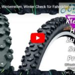 E-Biker und Radfahrer im Winter, mehr Bodenhaftung: Spikereifen !