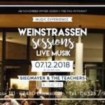 Jeden ersten Freitag im Monat Weinstrassenfest – LIVEMUSIK – Lounge im Weinkontor – 16 bis 21 Uhr in Edenkoben