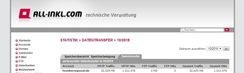 Statistik Oktober 2018, TVüberregional, Oliver Döll, Onlinezeitung, Videoporduktion, 500 Pixel