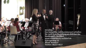 Vorschau der DVD, Jubiläumskonzert 150 Jahre Stadtkapelle Walldorf