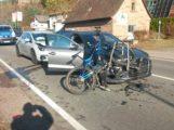 Drei Verletzte bei Auffahrunfall