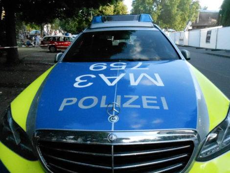 Vier Verdächtige nach Überfall auf Schrotthändler festgenommen; ein Auto noch flüchtig; Auslösung Ringalarmfahndung; Polizei-Heli und Boot der Wasserschutzpolizei im Einsatz; PM Nr. 1