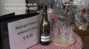 Teil 01, kostenlose Verkostung, NEUES KENNENLERNEN bei Getränke Gaa, Getränkelager Hockenheim