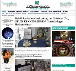 Teil 02, kostenlose Verkostung bei Getränke Gaa, NEUES KENNENLERNEN, Getränkelager Hockenheim, TVüberregional