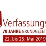 Das Grundgesetz wird 70 – Karlsruhe feiert großes VerfassungsFEST