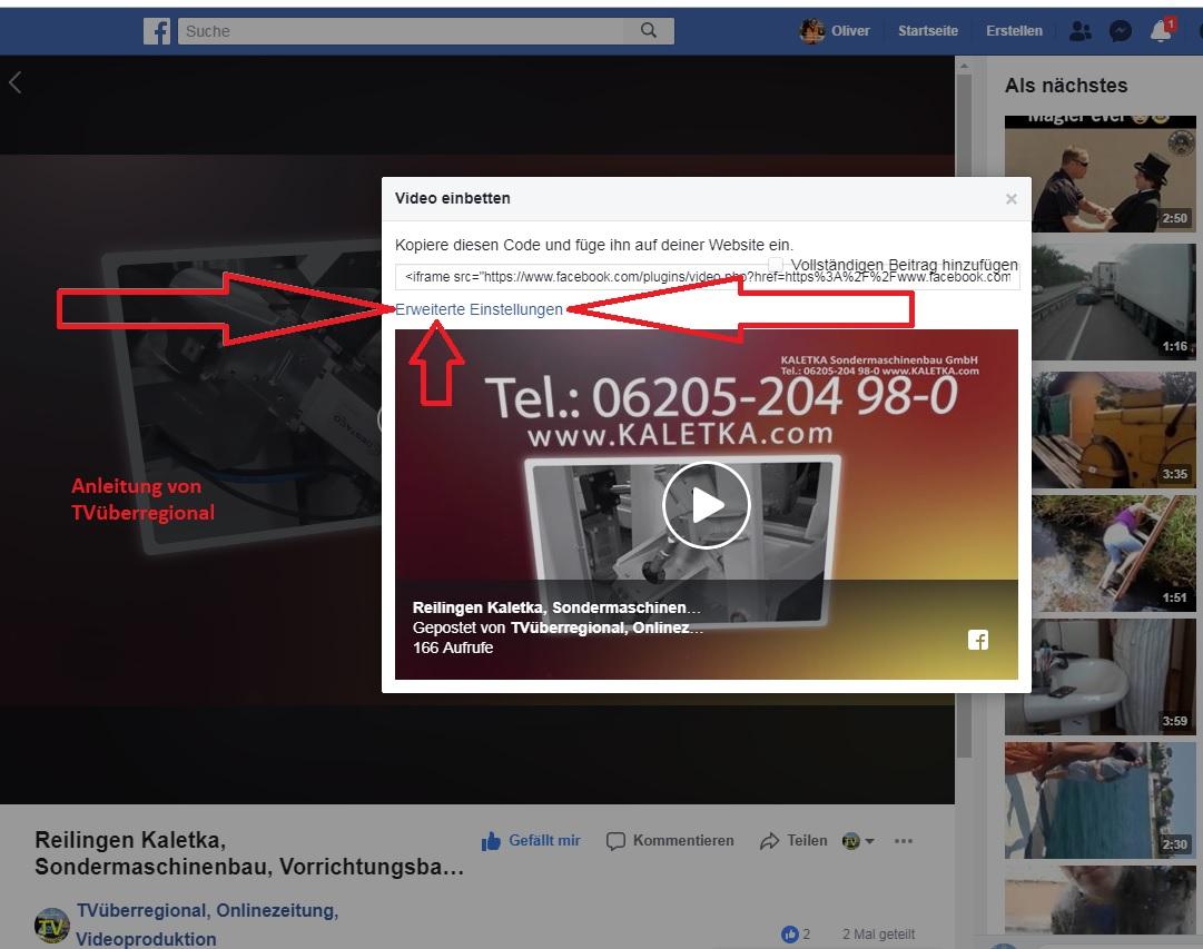 Anleitung - Wie lade ich einen Video im Facebook und anderen Sozialmedienportale herunter