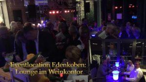 Eventlocation Pfalz, Lounge im Weinkontor Edenkoben
