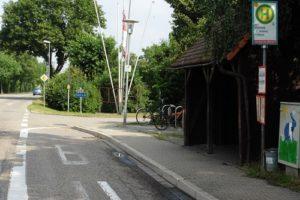 13 Spitzahornbäume hat der kommunale Bauhof im Baustellenverlauf bereits in den vergangenen Tagen gefällt.