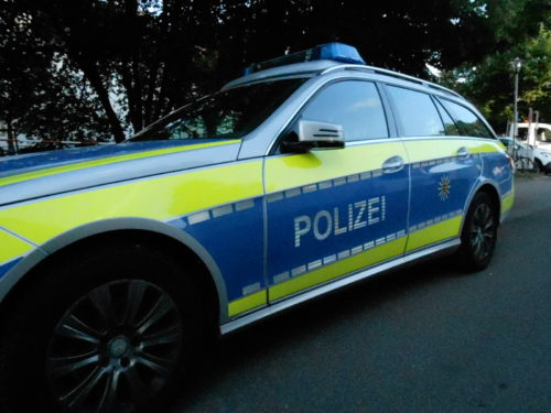 Bammental B 45 - Unfall mit drei beteiligten Fahrzeugen