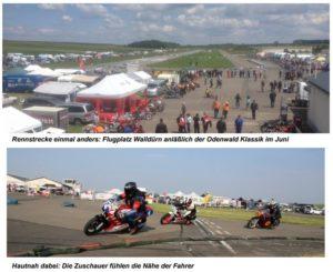 Flugplatz Walldürn, Rennstrecke Odenwaldklassik, Walldürn, Motorsport, Motorradrennen, Nicolai Kraft,