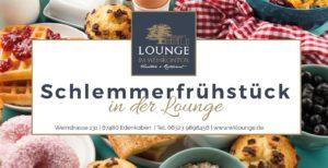 Schlemmerfrühstück in der Lounge im Weinkontor ab 3. Februar 2019
