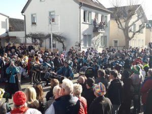 6. Kirrlacher Narrensprung, Narrenzunft Kirrlach e.V. (c) Foto von Jürgen Klein, Kameramann bei TVüberregional
