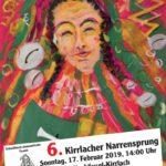 Kirrlacher Narrensprung, Sonntag, 17.02.19