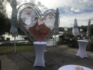 Valentinstag Restaurant Poseidon im Bootshaus in Philippsburg