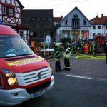 Drei Feuerwehreinsätze fast gleichzeitig.