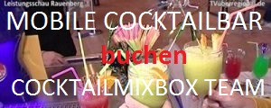 Cocktailmixbox, Cocktails, mobile Cocktail Bar, mieten, buchen, highlight für Ihre Event