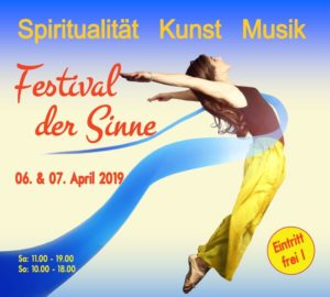 Festival der Sinne am 6. April 2019, 11- 19 Uhr