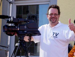Oliver Döll, Narrensprung Kirrlach, Kameramann, TVüberregional,