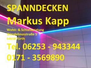 Spanndecken Markus Kapp