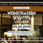 Weinstrassen Sessions in der Lounge im Weinkontor Edenkoben am 05. April 2019 – Special Guest: AQuilla Fearon
