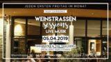 Weinstrassen Sessions in der Lounge im Weinkontor Edenkoben am 05. April 2019 – Special Guest: AQuilla Fearon