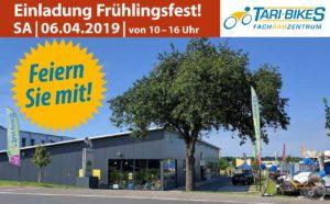 Wallorf, Tari-Bikes: Einladung zum Frühlingsfest,Samstag, 6.4; 10 - 16 Uhr