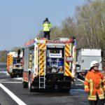 Balzfeld / BAB 6; Tödlicher Verkehrsunfall Fahrbahn ist zwischenzeitlich wieder frei