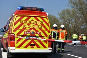 Balzfeld / BAB 6; Tödlicher VerkehrsunfallFahrbahn ist zwischenzeitlich wieder frei