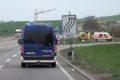 Schwerer Verkehrsunfall auf der A6