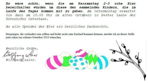 Eierlauf, Heimatverein Unterhof, Kraichgau, Vogelsangstraße