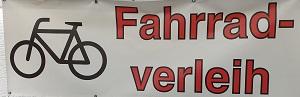 Fahrrad Verleih Reilingen, Fahrradwerkstatt Banner 300 x 100 px