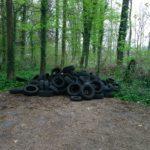 Wiesloch: Illegale Entsorgung von Altreifen<br> – Zeugen gesucht