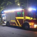 Brandstiftung auf dem Gelände der Friedrich-Fröbel-Schule