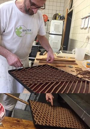 Kreuzbäcker Reilingen, Schieck, Bäckermeister, eigene Produktion ohne Chemie