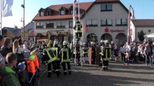 Die schwersten Arbeiten hatte die Feuerwehr Dielheim durchgeführt