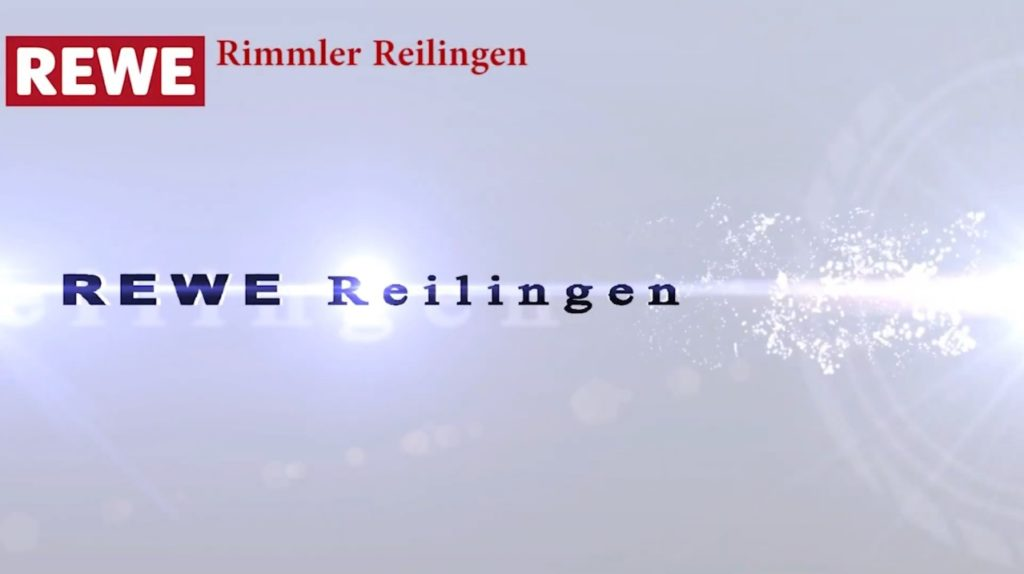Rewe Reilingen, Rewe Bild, TVüberregional, Rewe Video, Rewe-Werbeblätter als Videowerbung erstellt durch TVüberregional