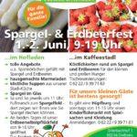 Kinderflohmarkt auf dem Obsthof Freudensprung beim Spargel & Erdbeerfest