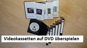 Videokassetten auf DVD überspielen, 01-01, TVueberregional, Oliver Doell, Tel 0176-58717307