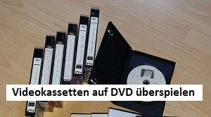 Videokassetten auf DVD überspielen, 03-01, TVueberregional, Oliver Doell, Tel 0176-58717307